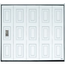 Vertical Large Rib Side Sectional Door