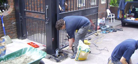 Automatic Gates, Gate Automation, Electric Gates, Solihull, Bromsgrove, Worcestershire, Birmingham, West Midlands